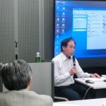 日本と世界のISO審査の動向について語る萩原代表
